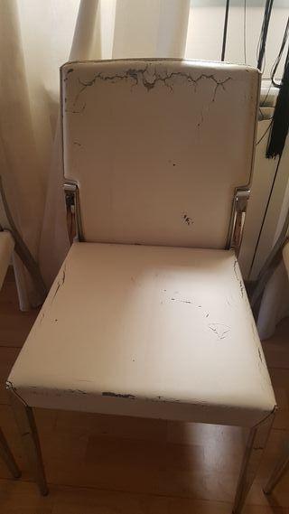 cuatro sillas para tapizar