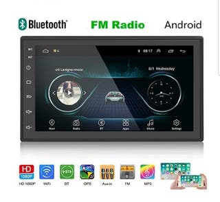 "Radio Pantalla Android 7"". Wifi, GPS, Bluetooth"
