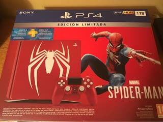 Playstation 4 Edición Limitada Spiderman