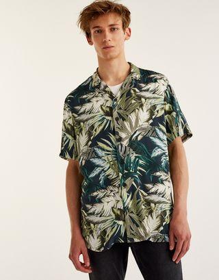 Camisa de palmeras