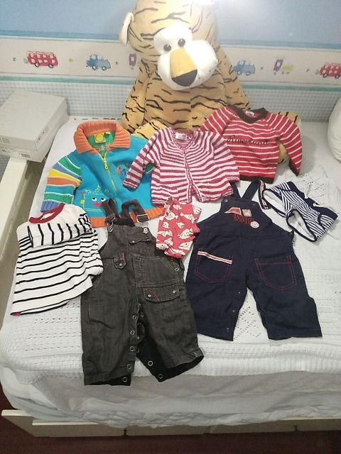 lote ropa bebé 3 a 6 meses