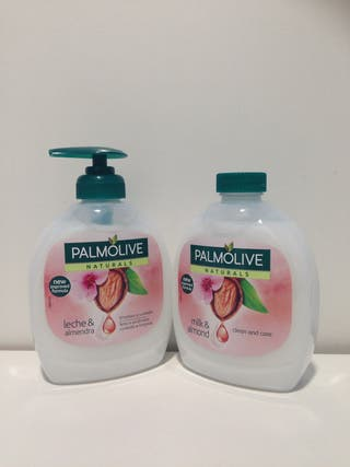 Jabón PALMOLIVE leche & almendras