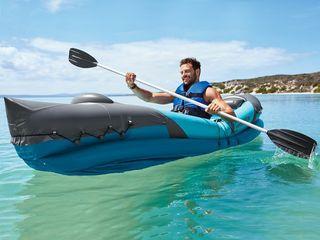 Kayak hinchable 2 personas, con remo, NUEVO