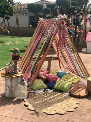 Fiesta hippie accesorios