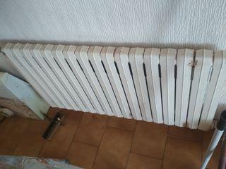 Radiadores calefacción hierro colado.