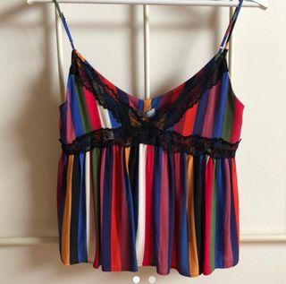 Top multicolor Zara