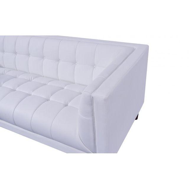 Sofá ítalo español blanco diseño 3 plazas 204 larg