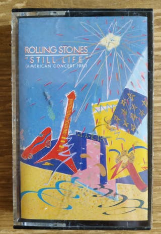 Cassette The Rolling Stones - Still Life (1982, UK