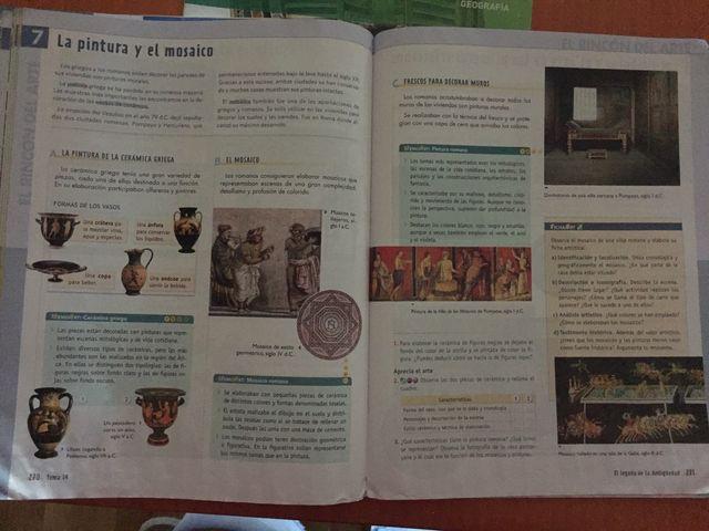 Libros geografia e historia 1 de ESO