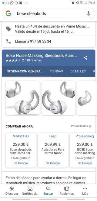 auriculares bose nuevos inalámbricos