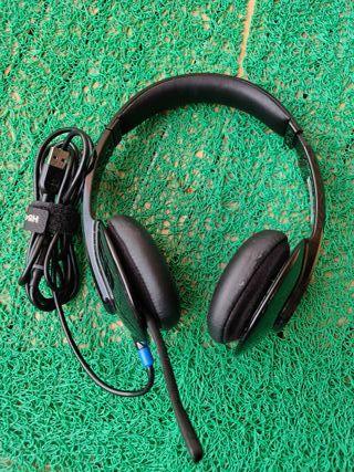 Auriculares con micrófono Logitech