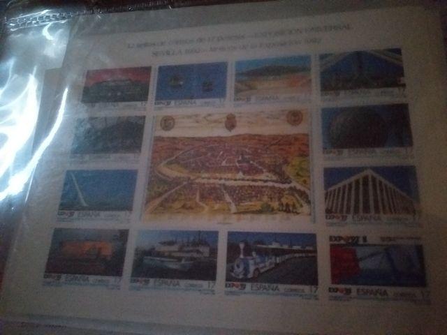 se vende coleccion de sellos antiguos