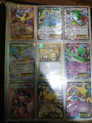 Cartas Pokémon EX