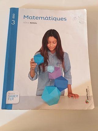 libro de matemáticas de 3.ESO