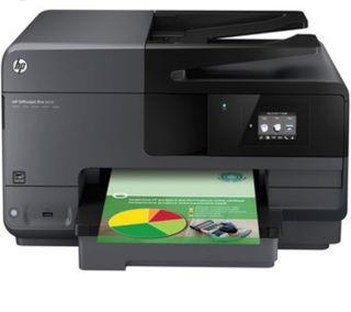 Impresora HP profesional.