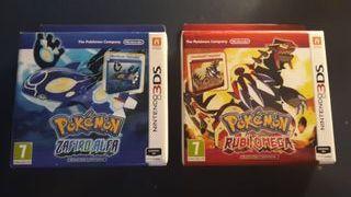 Edicion Limitada Pokémon Rubi Omega y Zafiro Alfa