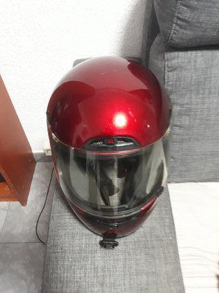 casco moto ,usado pero edta como nuevo