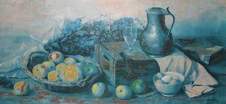 pintura bodegón grande de HENK BOS