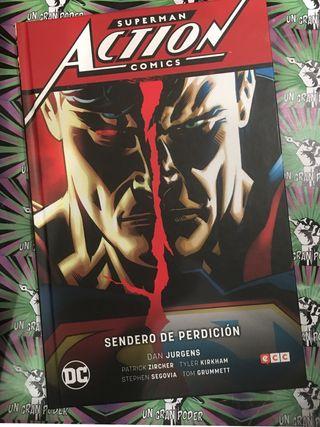 SUPERMAN. ACTION CÓMICS #01. SENDERO DE PERDICION