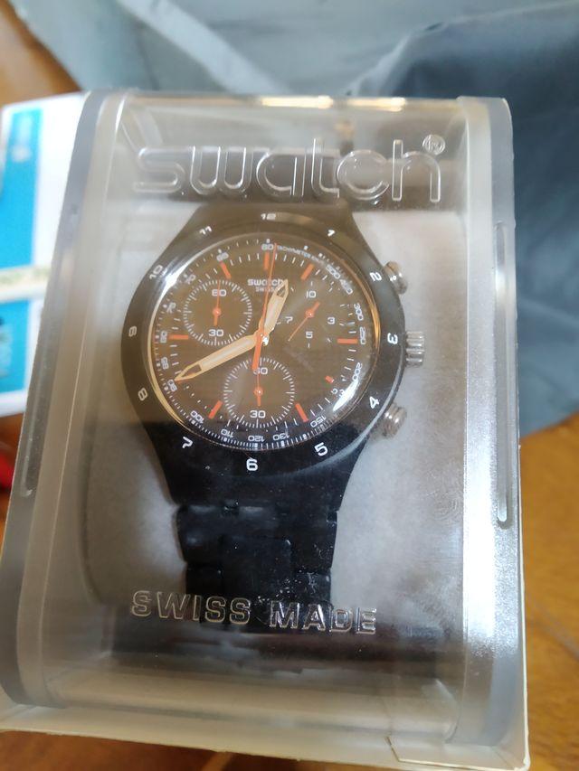 ultima tecnología swatch Reloj 4 esferas