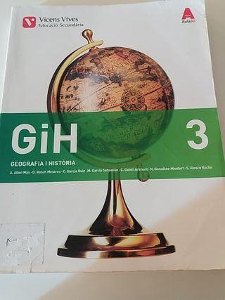 libro de geografía i historia 3.ESO
