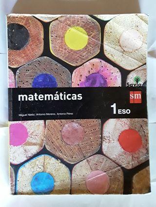 Libro Matemáticas - 1ESO
