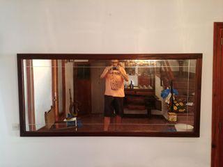 Espejo antiguo de pared o para vestidor