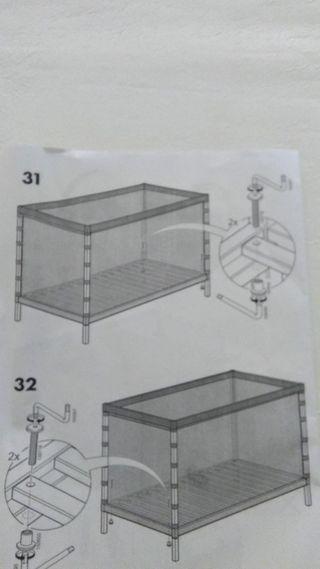 Cuna-parque de Ikea