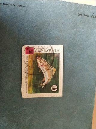 sello 1968 Venezuela
