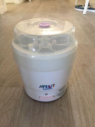 Esterilizador eléctrico de la marca Avent
