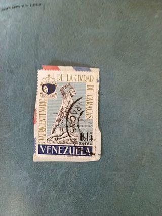 sello 1967 Venezuela