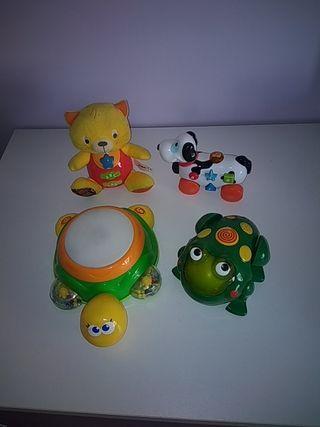 Lote juguetes musicales y luminosos