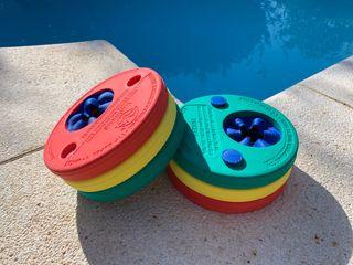 Manguitos piscina antipinchazos