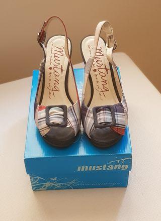 Sandalias de cuña n 36