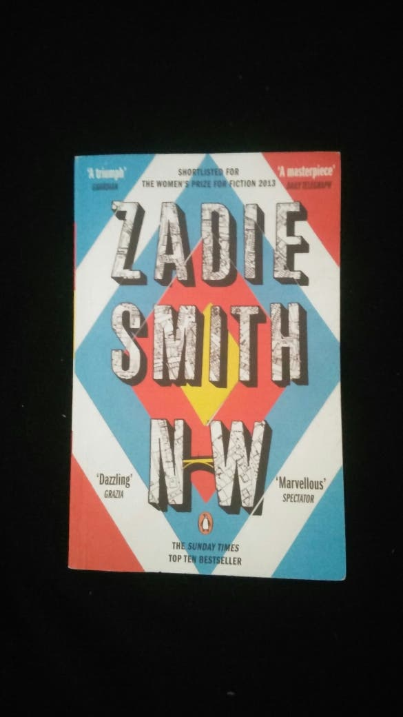 "Libro: ""N-W"" - Zadie Smith (inglés)"