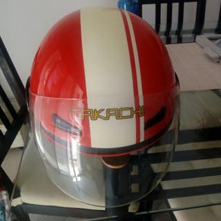 casco moto s/m regalo bolsa
