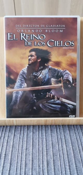 El Reino de los Cielos. Película en DVD.