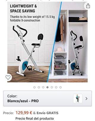 Bici estática con respaldo ( urge vender )