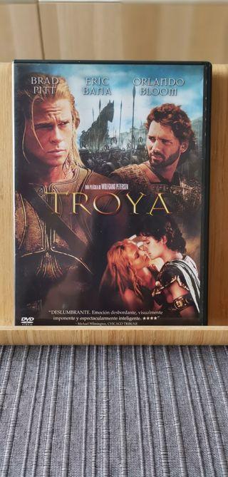 Troya. Película en DVD.
