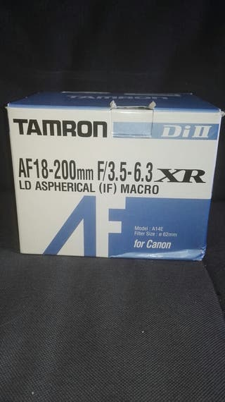Objetivo Tamron para Canon