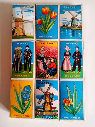 Cajas de cerillas de HOLANDA