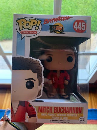 Funko pop Baywatch Mitch Buchannon