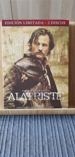Alatriste. Película en DVD.