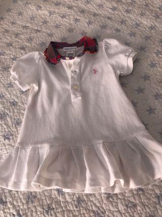 Vestido bebe 9 meses