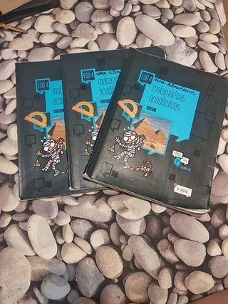 libro matemáticas académicas 4°eso edelvives