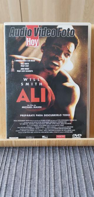 Ali. Película en DVD.