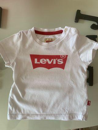 Camiseta LEVI'S original bebé 6 meses