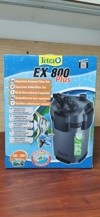 Filtro Externo para acuario Tetra EX 800 Plus
