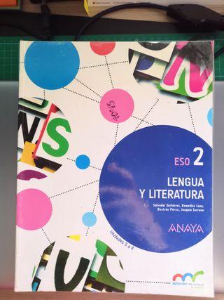 Lengua y Literatura Anaya 2 ESO