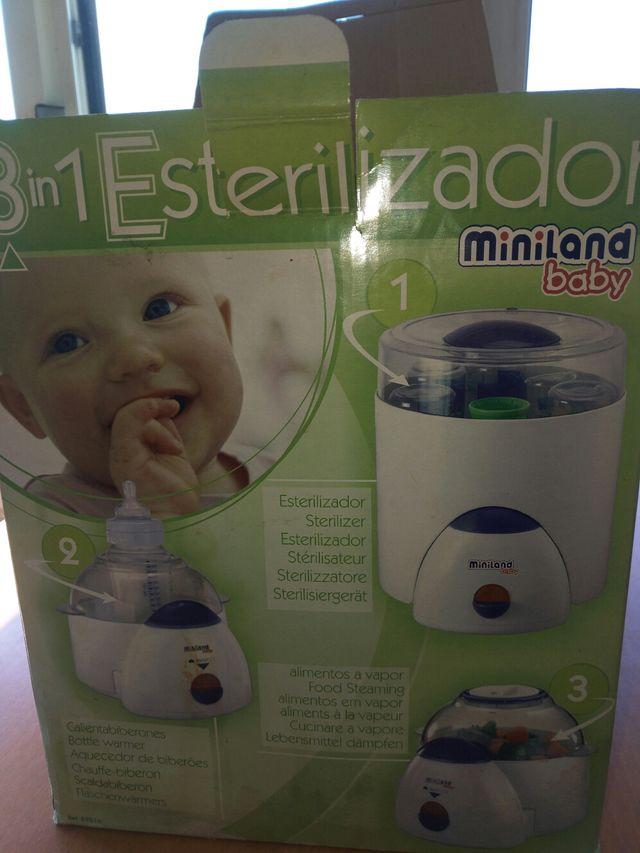 Súper 3 miniland esterilizador